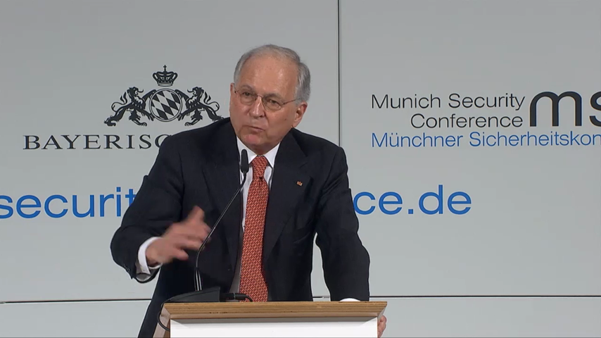 Ambassador Wolfgang Ischinger's welcome remarks