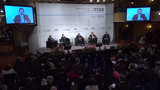 Munich Security Conference 2013: Panel Discussion - The Rising Powers and Global Governance