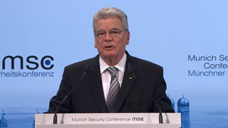 Munich Security Conference 2014: Joachim Gauck's Opening Speech