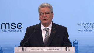 Joachim Gauck's Opening Speech