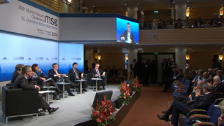 "Munich Security Conference 2014: Panel Discussion ""Rebooting Trust? Freedom vs. Security in Cyberspace"""