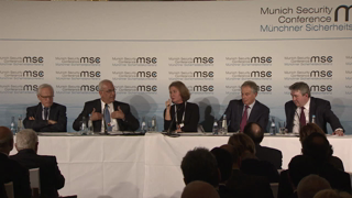 "Munich Security Conference 2014: Breakout Session ""The Middle East Peace Process"""
