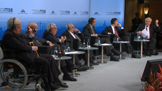 "Munich Security Conference 2014: Panel Discussion ""MSC at Fifty: The Past, Present, and Future of International Security"""
