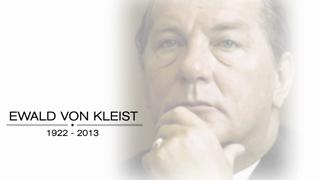 A tribute to Ewald von Kleist