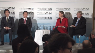"Munich Security Conference 2015: Panel Discussion ""Pacific Geopolitics: Pow(d)er Keg?"""
