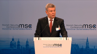 Remarks by the Lord Mayor of Munich Dieter Reiter