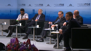 "Panel Discussion ""The World in 2015: Collapsing Order, Reluctant Guardians?"""