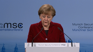 Statement and Discussion with Dr. Angela Merkel