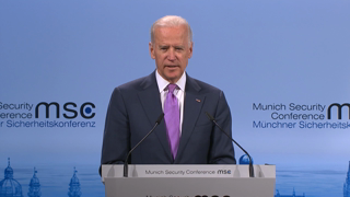 Statement and Discussion with Joseph Biden