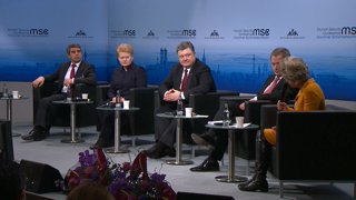 "Munich Security Conference 2015: Presidential Debate: ""The Conflict over Ukraine and European Security"""