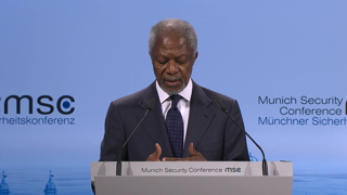 Opening Statements by Kofi Annan and Federica Mogherini