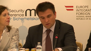 Core Group Meeting Vienna: Speech by Pavlo Klimkin