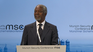 "Munich Security Conference 2016: Opening Statement and Comment ""Africa: Keeping P(e)ace"""