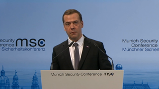 Munich Security Conference 2016: Prime Ministers' Debate with Manuel Valls and Dmitry A. Medvedev