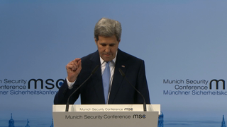Munich Security Conference 2016: Statement by John F. Kerry