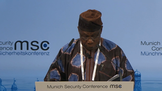 "Munich Security Conference 2016: Panel Discussion ""Africa: Keeping P(e)ace"""