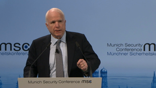 Munich Security Conference 2016: Statement by John McCain