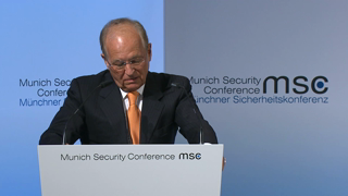 Munich Security Conference 2017: Welcome Remarks by Wolfgang Ischinger