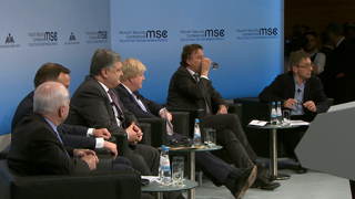"Munich Security Conference 2017: Panel Discussion ""The Future of the West: Downfall or Comeback?"""