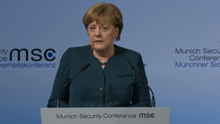 Statement by Angela Merkel