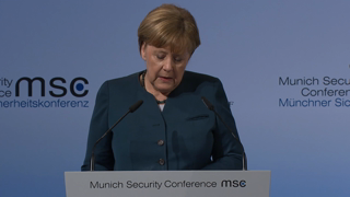 Munich Security Conference 2017: Statement by Angela Merkel