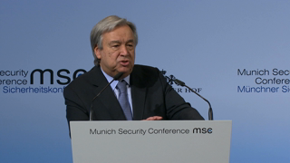 Munich Security Conference 2017: Statement by António Guterres