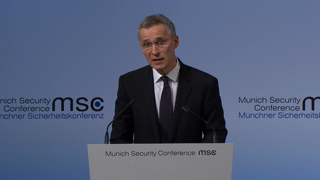 Munich Security Conference 2017: Statement by Jens Stoltenberg