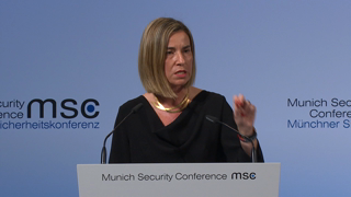 Munich Security Conference 2017: Statement by Federica Mogherini