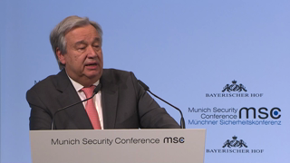 Munich Security Conference 2018: Opening Statement by António Guterres