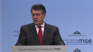 Munich Security Conference 2018: Statement by Sigmar Gabriel