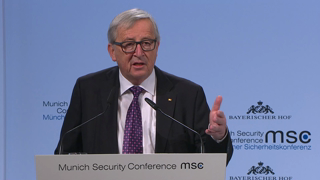 Munich Security Conference 2018: Statement by Jean-Claude Juncker