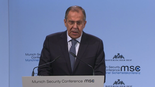 Munich Security Conference 2018: Statement by Sergey Lavrov