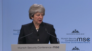 Munich Security Conference 2018: Statement by Theresa May