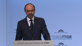 Munich Security Conference 2018: Statement by Edouard Philippe