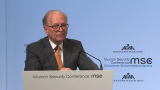 Munich Security Conference 2018: Welcome Remarks by Wolfgang Ischinger