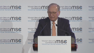 Munich Security Conference 2019: John McCain Award Ceremony