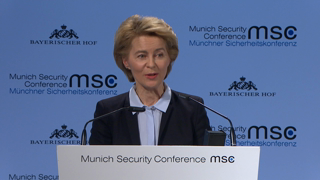 Munich Security Conference 2019: Opening Statements by Ursula von der Leyen and Gavin Williamson
