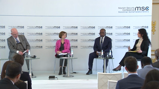 "Munich Security Conference 2019: Panel Discussion ""Security in the Sahel: Traffick Jam?"""