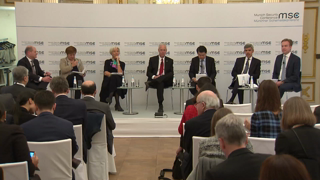 "Munich Security Conference 2019: Parallel Panel Discussion ""Make Competitors Trade Again: From Confrontation to Cooperation?"""