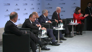 "Munich Security Conference 2019: Panel Discussion ""The Syrian Conflict: Strategy or Tragedy?"""