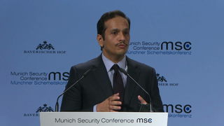 Munich Security Conference 2019: Statement by Sheikh Mohammed bin Abdulrahman Al-Thani followed by Q&A