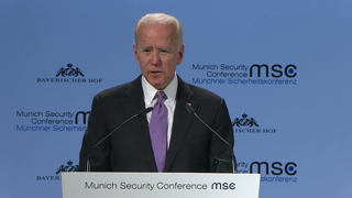 Munich Security Conference 2019: Statement by Joeseph R. Biden Jr. followed by Q&A