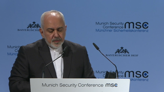 Munich Security Conference 2019: Statement by Mohammad Javad Zarif followed by Q&A