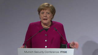 Munich Security Conference 2019: Statement by Angela Merkel followed by Q&A