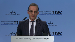 Munich Security Conference 2019: Statement by Heiko Maas followed by Q&A