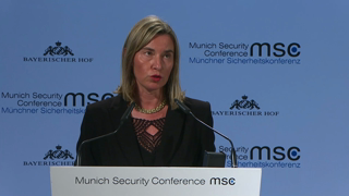 Munich Security Conference 2019: Statement by Federica Mogherini followed by Q&A