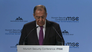 Munich Security Conference 2019: Statement by Sergey V. Lavrov followed by Q&A