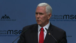 Munich Security Conference 2019: Statement by Michael Richard Pence