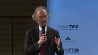 "Munich Security Conference 2019: Comment followed by Q&A ""The Syrian Conflict: Strategy or Tragedy?"""